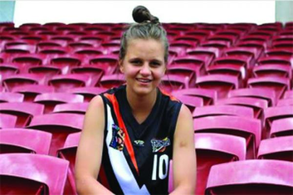 DANIELLE PONTER SELECTED FOR NATIONAL AFL ACADEMY