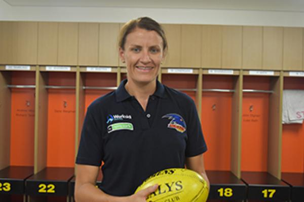 THE TERRITORY'S LAUREN O'SHEA - THE FIRST CROWS FREE AGENT