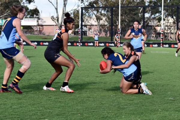 NT GIRLS DOWNED BY STRONGER NSW/ACT OUTFIT