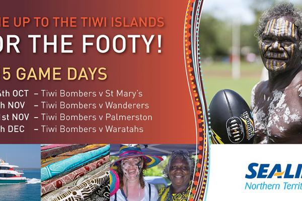 Sealink Provides Extra Services for Tiwi Bombers Island Fixtures