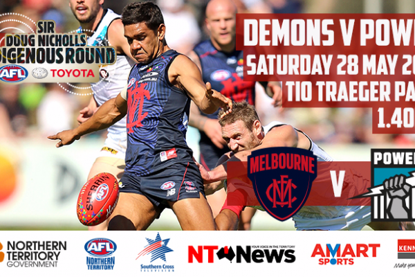 AFL HEADS TO THE RED CENTRE