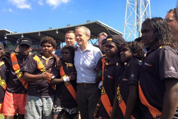 MICHAEL LONG & AFLNT WELCOME $10.7M COMMITMENT TO SUPPORT INDIGENOUS TRAINING & EDUCATION IN THE TERRITORY