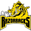 Tracy Village Razorbacks Logo