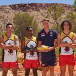 AFL Photos Lisa Hatz in Alice Springs