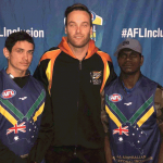 Byron Mayo, Nick Eades and Peter Apuatimi