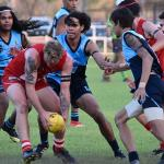 2018 BRFL Grand Final action