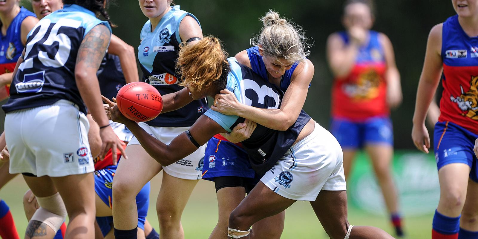 Female footballers in the NTFL