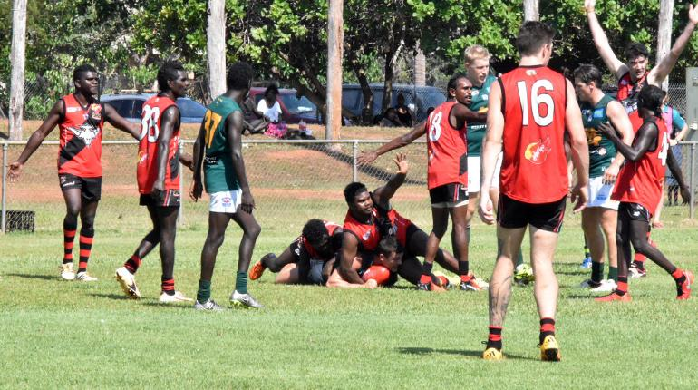 Tiwi Bombers play at REC Oval