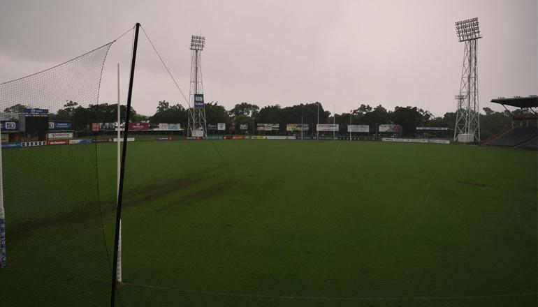 TIO Stadium on Tuesday afternoon