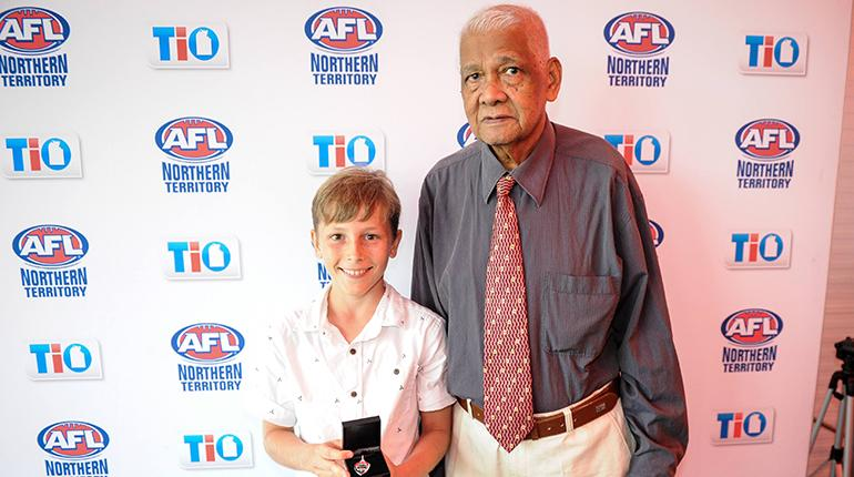 Junior award winner from the 2016/17 NTFL season