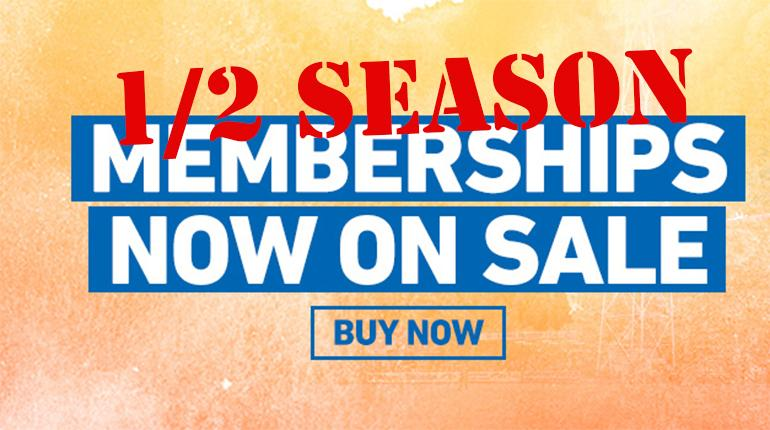 Half Season Membership Sale