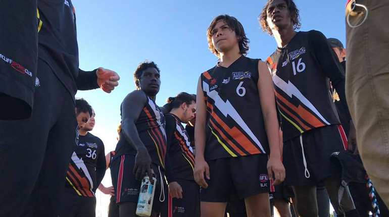 NT players at the 2018 Inclusion Carnival