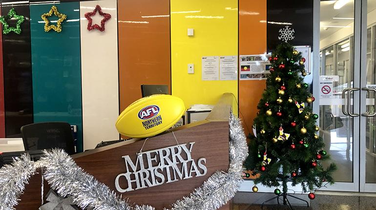 Merry Christmas from AFLNT