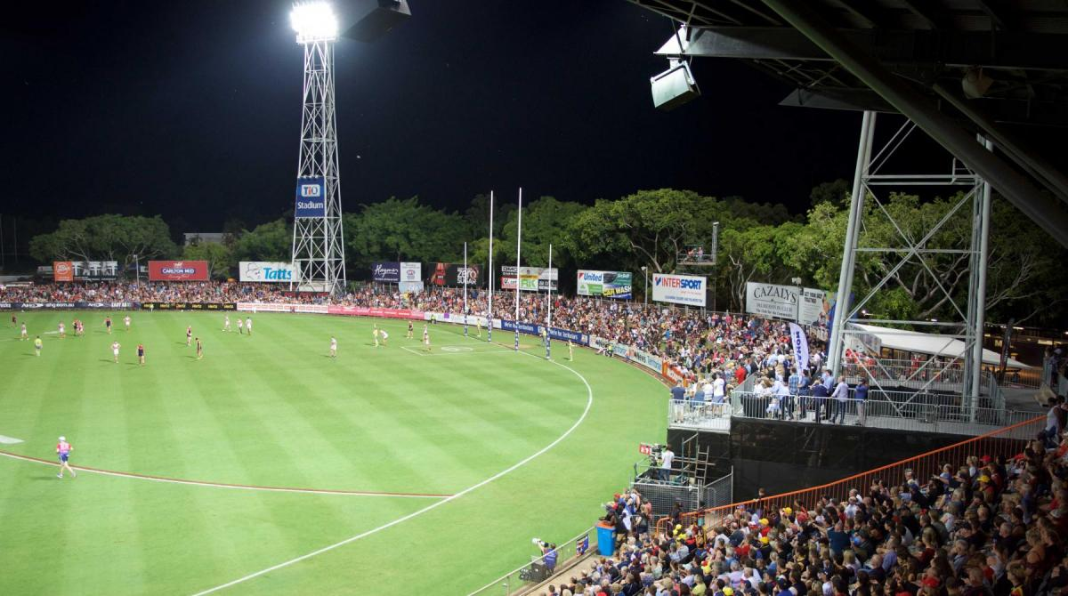 AFL games in NT locked in for five more years