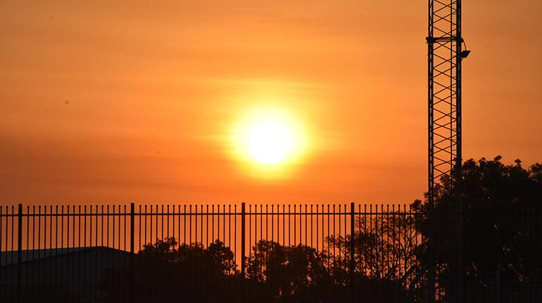 The Darwin sun is expected to soar