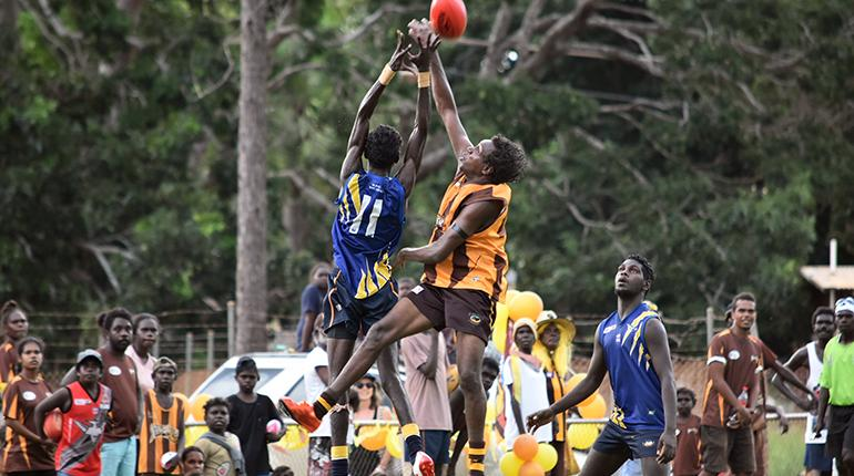 Restriction Of Access To Tiwi Islands Grand Final