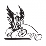 Palmerston Magpies 2 Logo