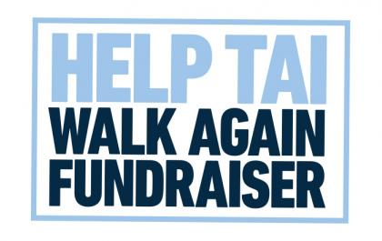 Help Tai Walk Again fundraising event