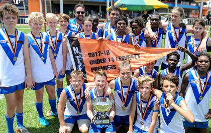 Banks Bulldogs celebrate U14 grand final win