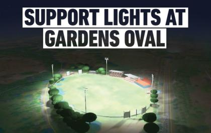 Gardens Lights example