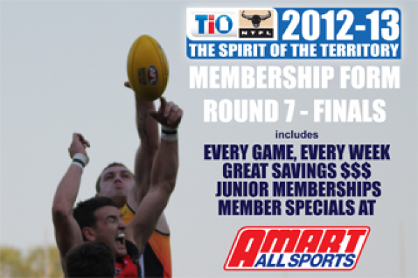 Save $$$ Purchase your discounted NTFL Membership Today