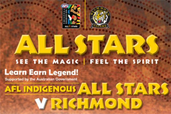 WEATHER FORECAST FORCES CANCELLATION OF AFL INDIGENOUS ALL STARS GAME