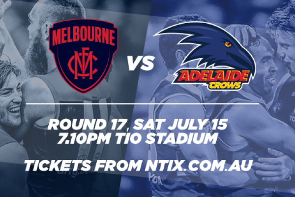 Melbourne Demons vs Adelaide Crows, 2017 Sat July 15
