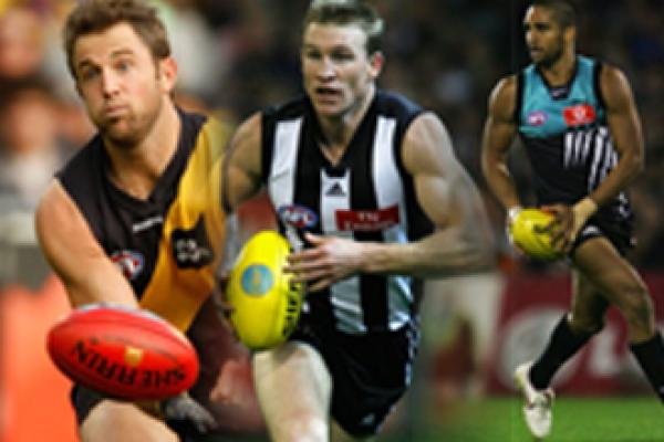 Buckley, Bowden and Burgoyne Inducted as Legends