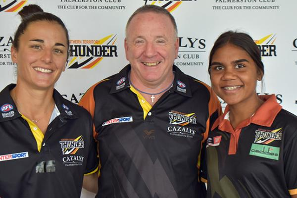 Join the NT Thunder Academy coaching ranks