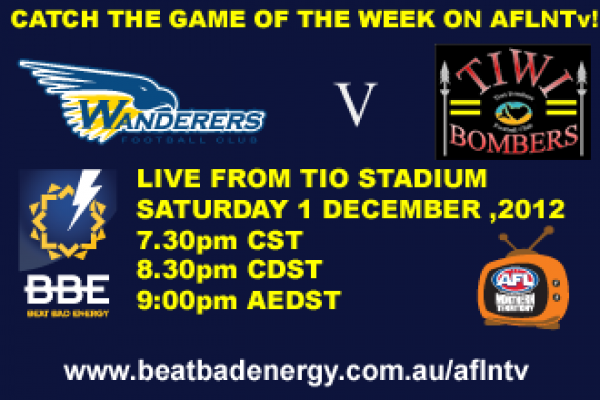 AFLNTv! Rd 9 - Wanderers v Tiwi Bombers