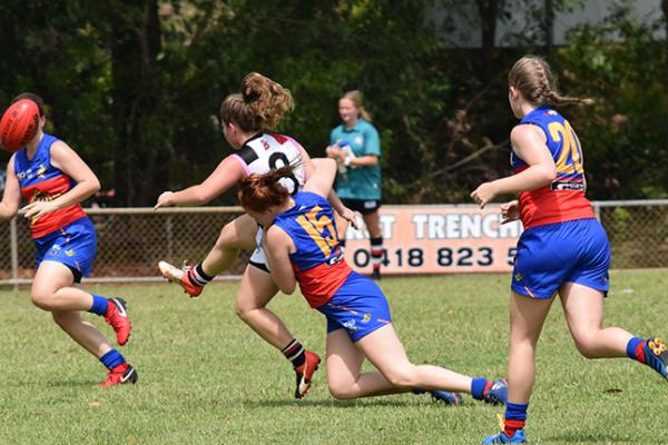 Waratah and Tracy Village will take part in the U18 Women's Michael Long Cup