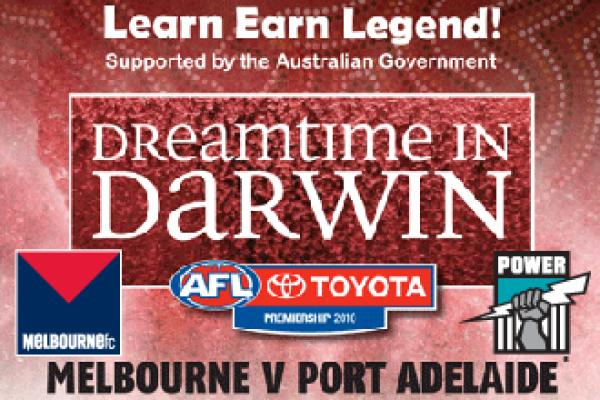'DREAMTIME IN DARWIN' CORPORATE PACKAGES NOW AVAILABLE