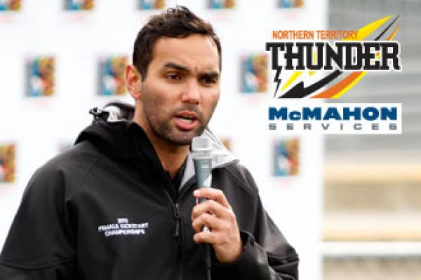 Clarke to take the helm of NT Thunder