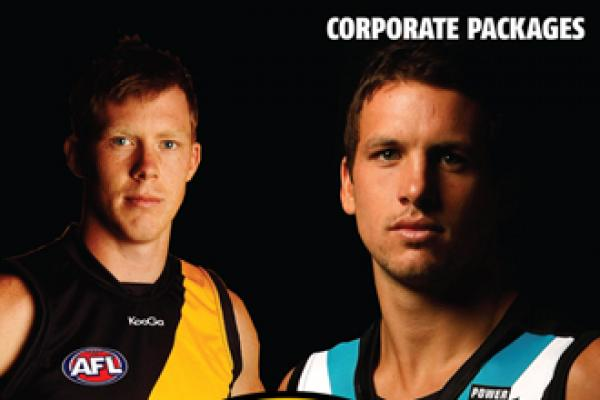CORPORATE PACKAGES FOR ROUND 10 AVAILABLE NOW!