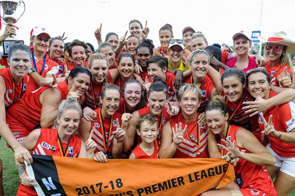 2017/18 NTFL Women's Grand Final Premiers - Waratah Warriors