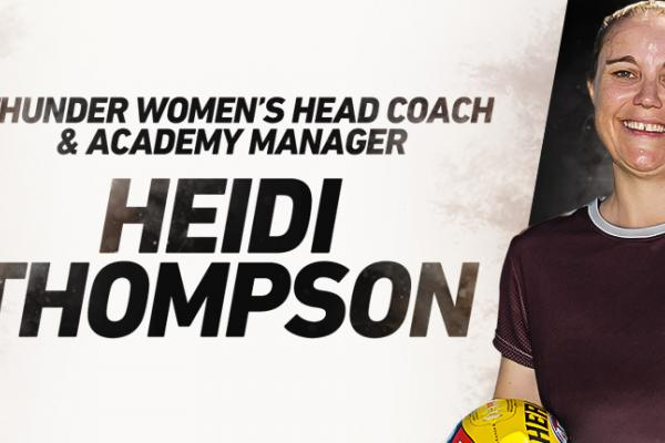 Heidi Thompson appointed to NT Thunder and AFLNT
