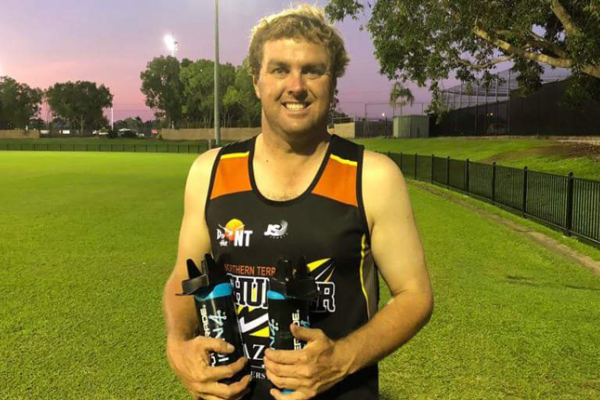 Jamie Barry 2018 NT Volunteer of the year