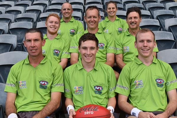 2017/18 NTFL Men's Grand Final appointed umpires