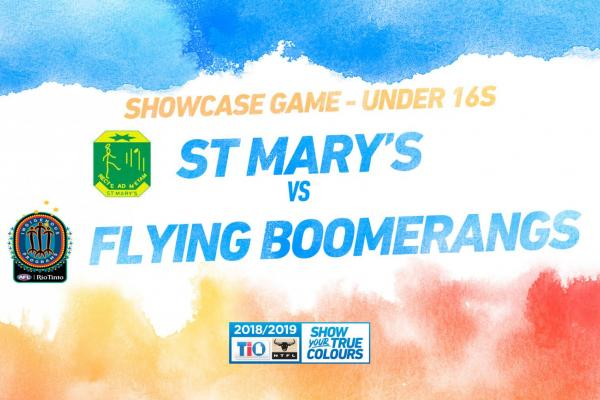Live stream for St Mary's vs Boomerangs