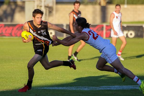 U18s in action during Round 4