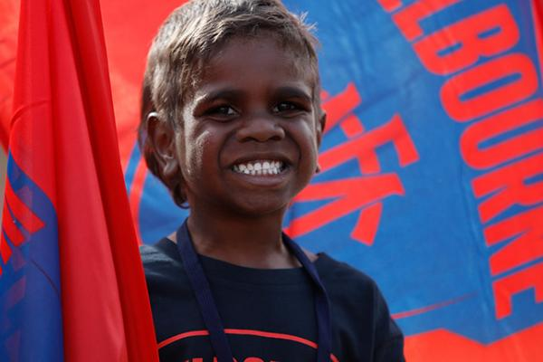 Kids get in for free in Alice Springs AFL game this year