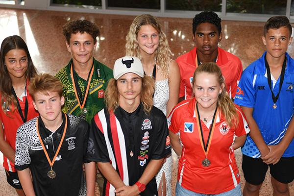 Winners at the 2019/20 NTFL Youth Presentation