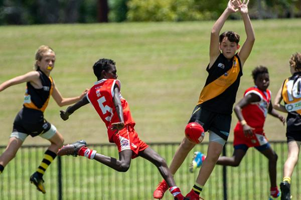 NTFL juniors action