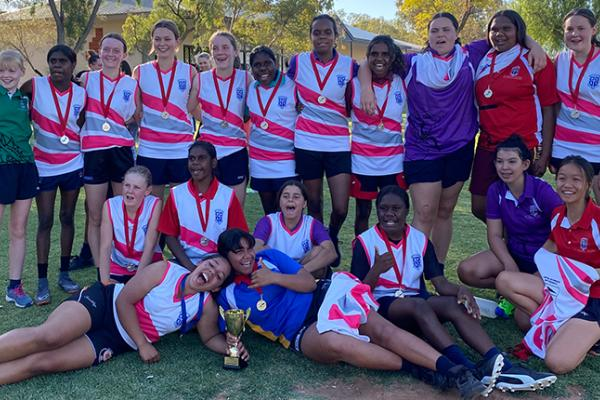 2020 Alice Springs School Girls Competition Premiers