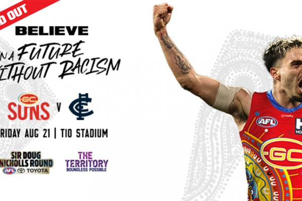 Gold Coast SUNS game is sold out