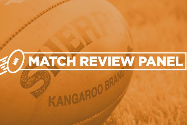 Match review panel orange