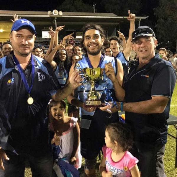 Eastside winning the 2017 BRFL Grand Final in Katherine