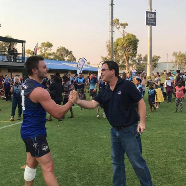 Everingham Medalist - Dylan Barry - 2017 CAFL grand final