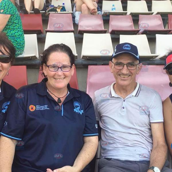 Australian music legend Paul Kelly was spotted at the NTFL watching his niece play for PINT
