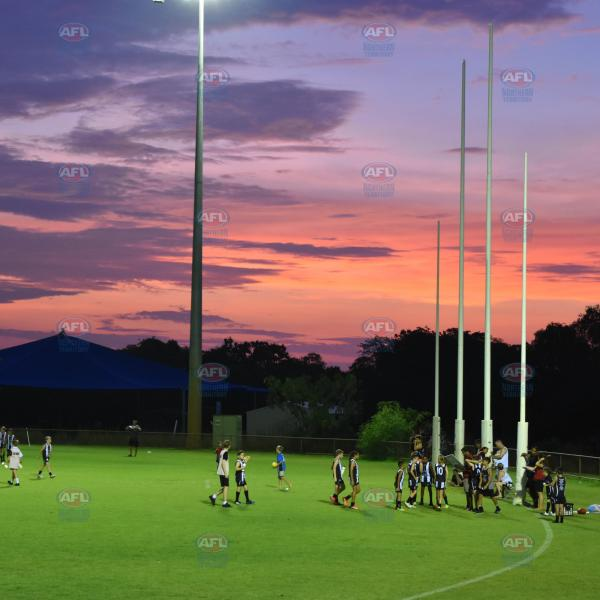A beautiful sunset at Northline Oval